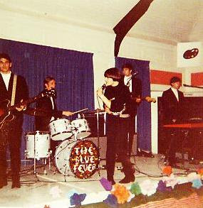 BLUE FEVER IHM Teen Club Martin, Derek, Fayden, Bruce, Doug